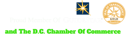 Member of GuideStar and DC Chamber of Commerce