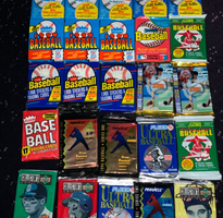 1 lot of 25 packs of unopened Baseball Cards