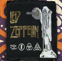 1970s LED ZEPPELIN IV SYMBOLS Patch