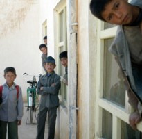 Afghan School Boys