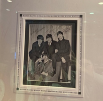 BEATLES RARE signed photograph