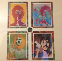 Four Beatles Photographs