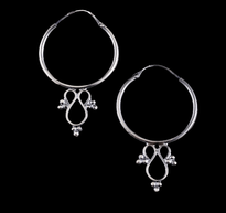 Earrings Halkice silver
