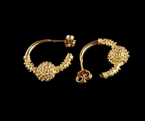 Earrings Jedna Jagoda gold plated