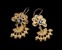 Earrings Kakanj gold plated