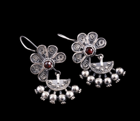 Earrings Kakanj silver