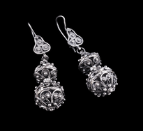 Earrings Luster 2 Glave silver