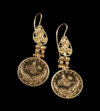 Earrings Novcic gold plated