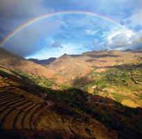 Full Rainbow at Pisac