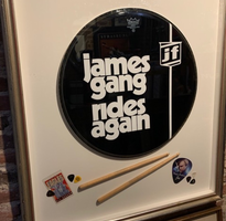 James Gang Rides Again Drum Head