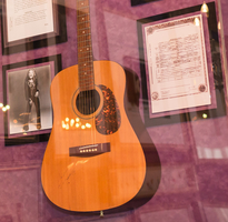 Janis Joplin Guitar and Signed Death Certificate
