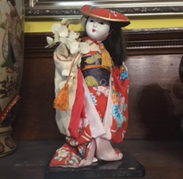 Japanese Doll Young Girl