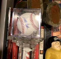 Johnny Bench signed baseball