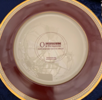 Lennox China O Museum Plate in Red