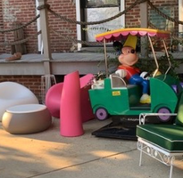Mickey Mouse Car and Outdoor Furniture