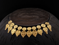 Necklace Glave gold plated