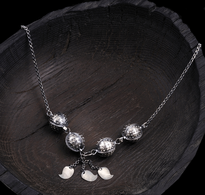 Necklace Puceta silver