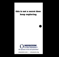Not a Secret Door Magnet