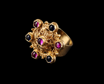 Ring 7 Kamencica gold plated