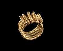 Ring Nevjestinski gold plated