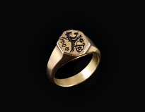 Ring Tvrtko Pecatnjak gold plated