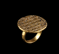 Ring Zapis gold plated