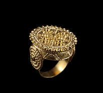 Ring Zupcanik gold plated
