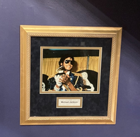 Signed Michael Jackson Photo