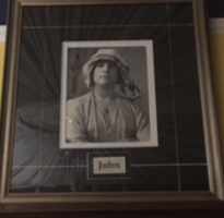 Unique Photograph of John Lennon
