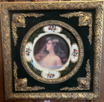 Vintage Mounted Plate