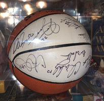 Washington Bullets Signed Basketball