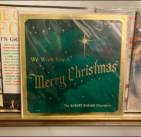 We Wish You A Merry Christmas Album by the Robert Rheims Choraliers
