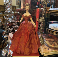 Woman In Red Porcelain