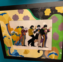Yellow Submarine Beatles Cell