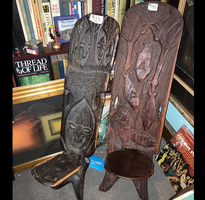 African Handcarved Chairs