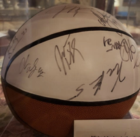 basketball signed by Michael Jordan and more