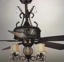 ceiling fan with French flair